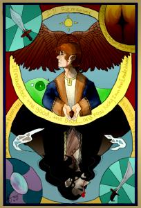 bagginshield tarot card